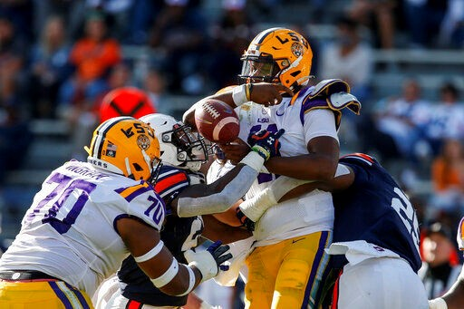 LSU Football Midseason Overview
